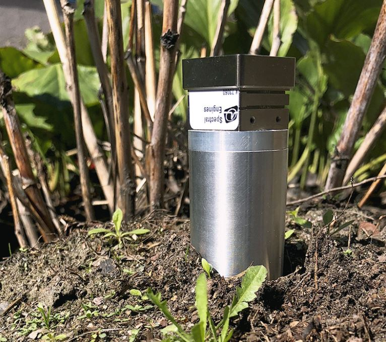 Nitrogen nutrient content analysis of soil with NIRONETM Spectral Sensors