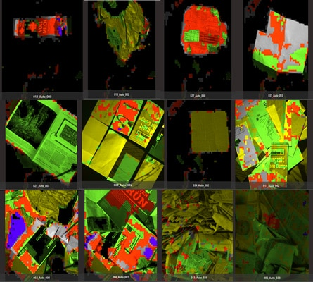 Optimizing Paper Waste Management with Hyperspectral Imaging
